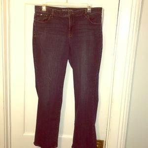Midrise Bootcut Jeans
